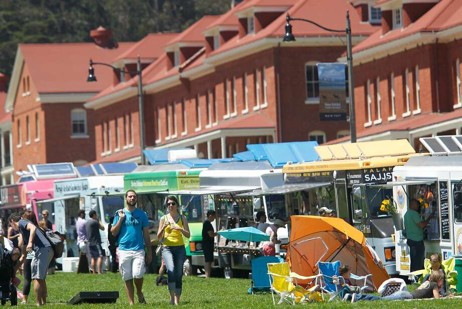 The Presidio's weekly Off the Grid Sunday Picnic will continue through October. Photo: Mathew Sumner, Special To The Chronicle