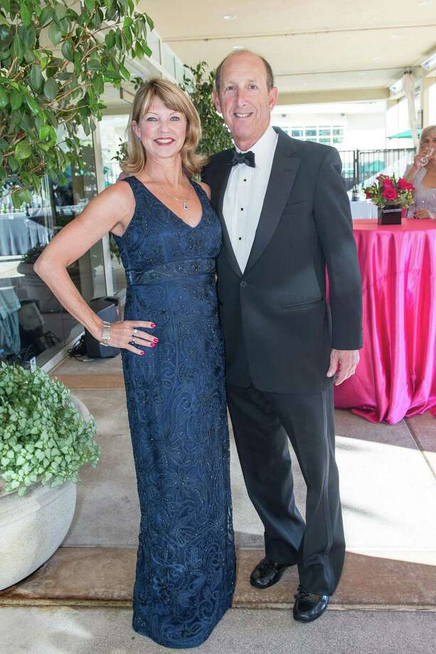 Holly Ward and Scott Spector at the annual TheatreWorks Honors gala on June 21, 2014 in Palo Alto. Photo: Susana Bates For Drew Altizer Photography, Drew Altizer Photography / ©Drew Altizer Photography 2014