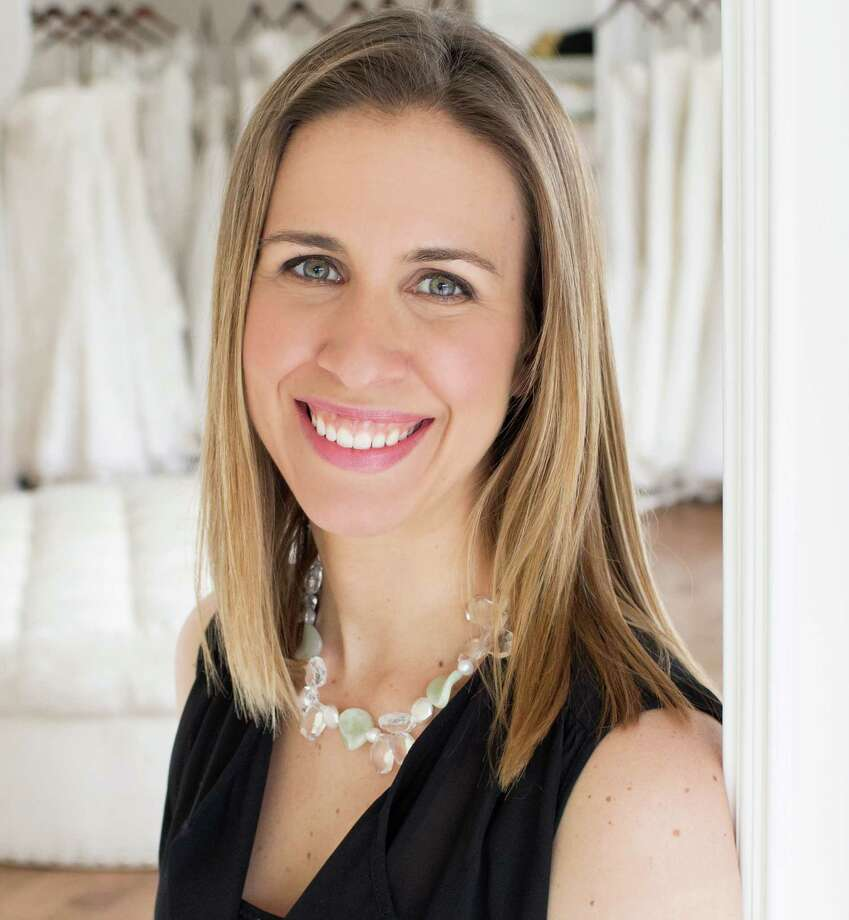 Ashley Krauss, the owner of A Little Something White bridal couture, was honored with a 40 Under 40 award for her business accomplishments. Photo: Contributed Photo, Contributed / Darien News