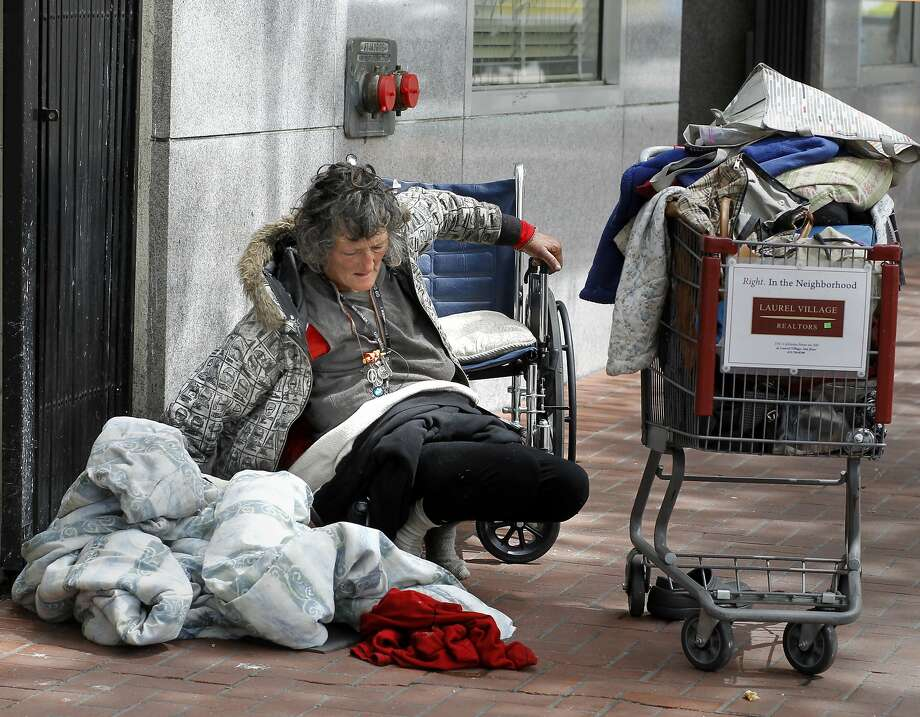 By providing housing for the homeless, San Francisco could improve the quality of life for people living on the streets and contain medical costs by reducing health care expenditures. Photo: Brant Ward, The Chronicle