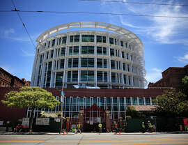 The new hospital at San Francisco General is seen from Potrero Avenue on Monday, June 30, 2014  in San Francisco, Calif.