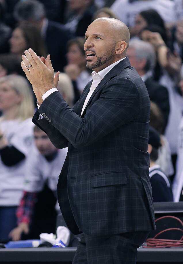 In his only season with the Nets, Jason Kidd led the team to a 44-38 record and a playoff appearance. Photo: Claus Andersen, Getty Images