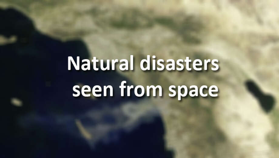 See more photos of natural disasters collected by NASA's instruments and astronauts orbiting the earth. (Moderate Resolution Imaging Spectroradiometer / NASA)