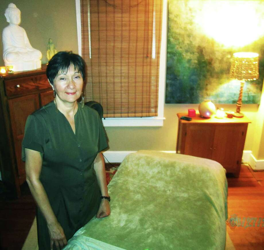 Claudia Larsson is available for for massage therapy by appointment at 27 Church Street in New Preston. June 2014 Photo: Norm Cummings / The News-Times