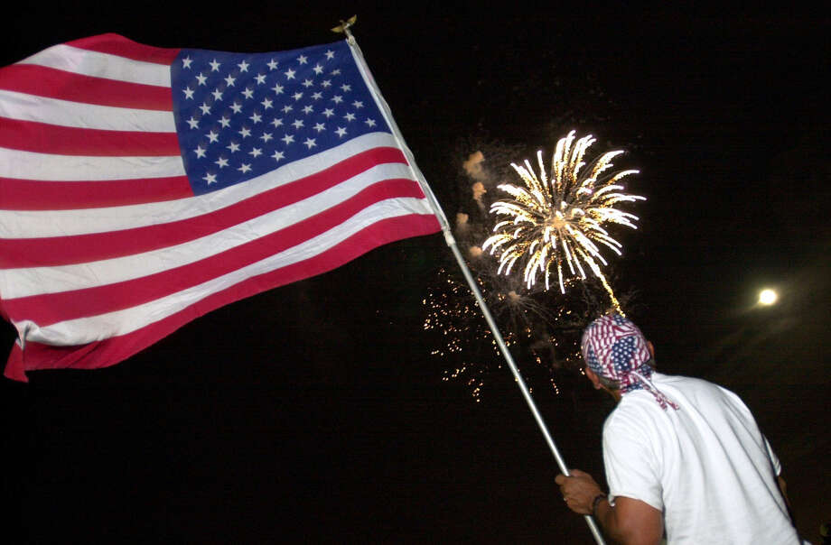 No. 2 in most patriotic cities in the U.S.To gauge patriotism, researchers ranked the nation's 100 most populous cities by percentage of population in the Armed Forces, total spending on veterans, populatrity of fireworks in July and number of community and social service workers. Photo: File / San Antonio Express-News / SAN ANTONIO EXPRESS-NEWS
