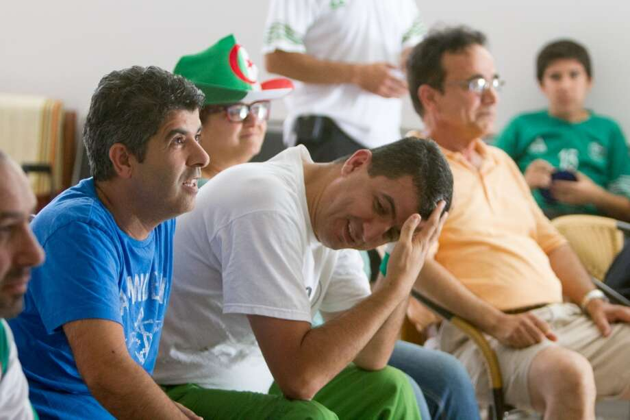 But Germany scored a quick goal in extra time, much to the dismay to all the Algeria fans. Photo: Douglas Zimmerman, Courtesy