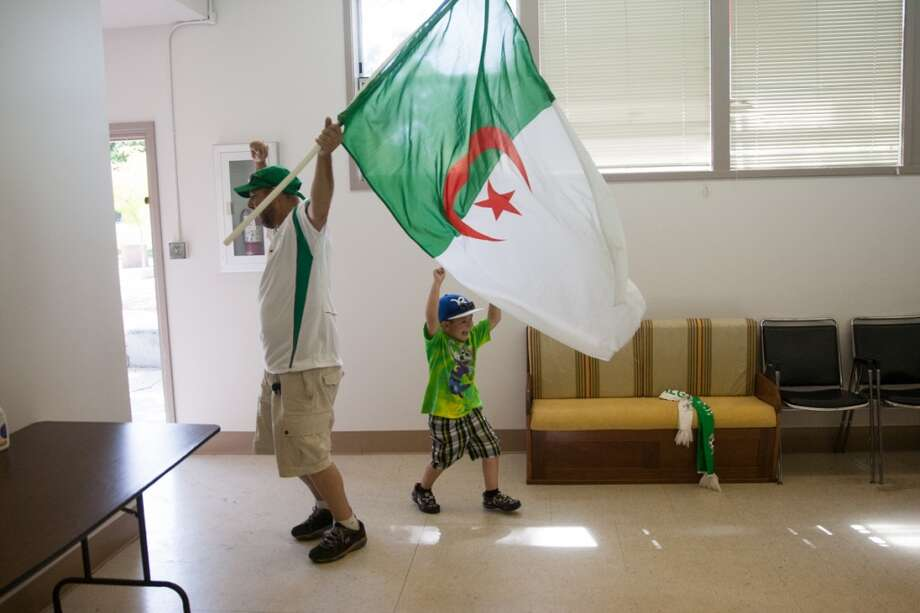 But for all the Algeria fans, it was a moment of pride.  They had given their all, and almost beat one of the best soccer teams in the world. Photo: Douglas Zimmerman, Courtesy