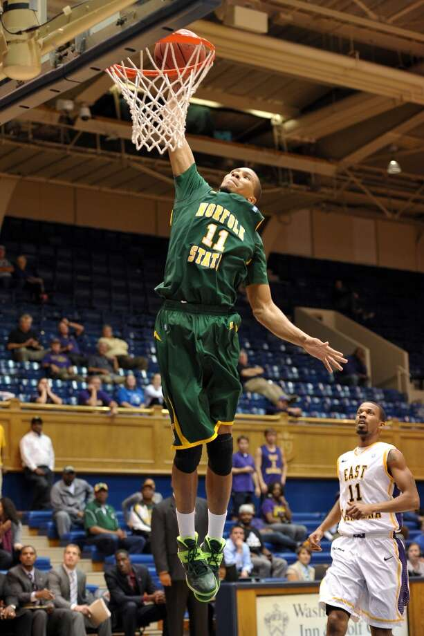 Las Vegas team:  Pendarvis Williams 6-6, 195 pounds Position: Guard  The 6-6 guard averaged 12.5 points per game during his four seasons at Norfolk State. Photo: Lance King, Getty Images