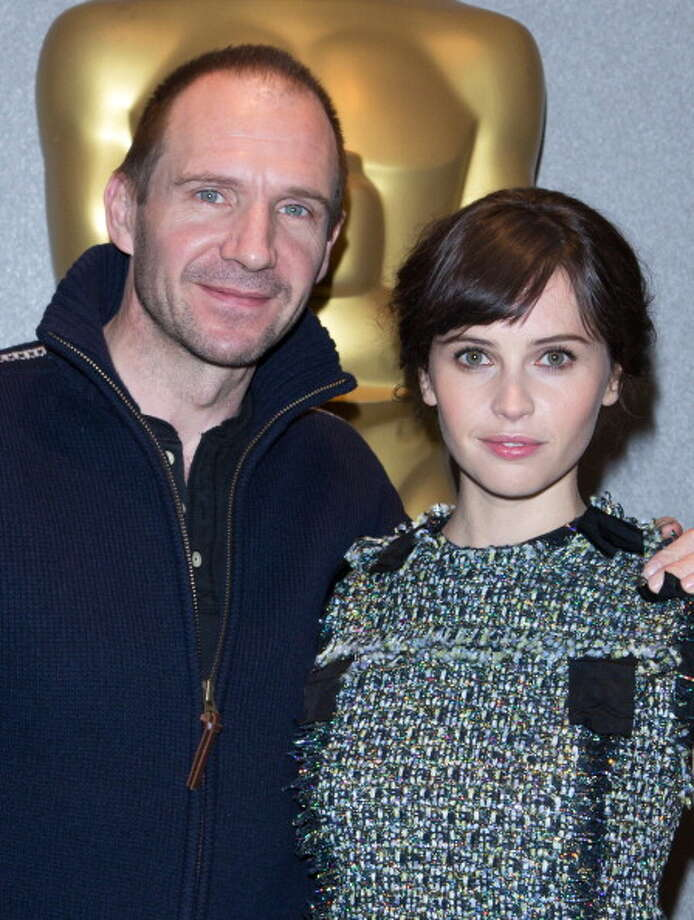 """""""The Invisible Woman"""": Ralph Fiennes and Felicity Jones attend a screening of the film here. Timeless values, no great scenes but lots of good ones, borderline great performances, complex ending . . . A strong effort. Photo: Anna Webber / 2013 Getty Images"""
