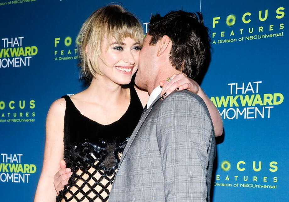 "Imogen Poots and Zac Efron attend the ""That Awkward Moment,"" which attempts to be timely and timeless, in its depiction of modern romance.  Not bad, but no classic. Photo: Daniel Zuchnik, WireImage / 2014 Daniel Zuchnik"