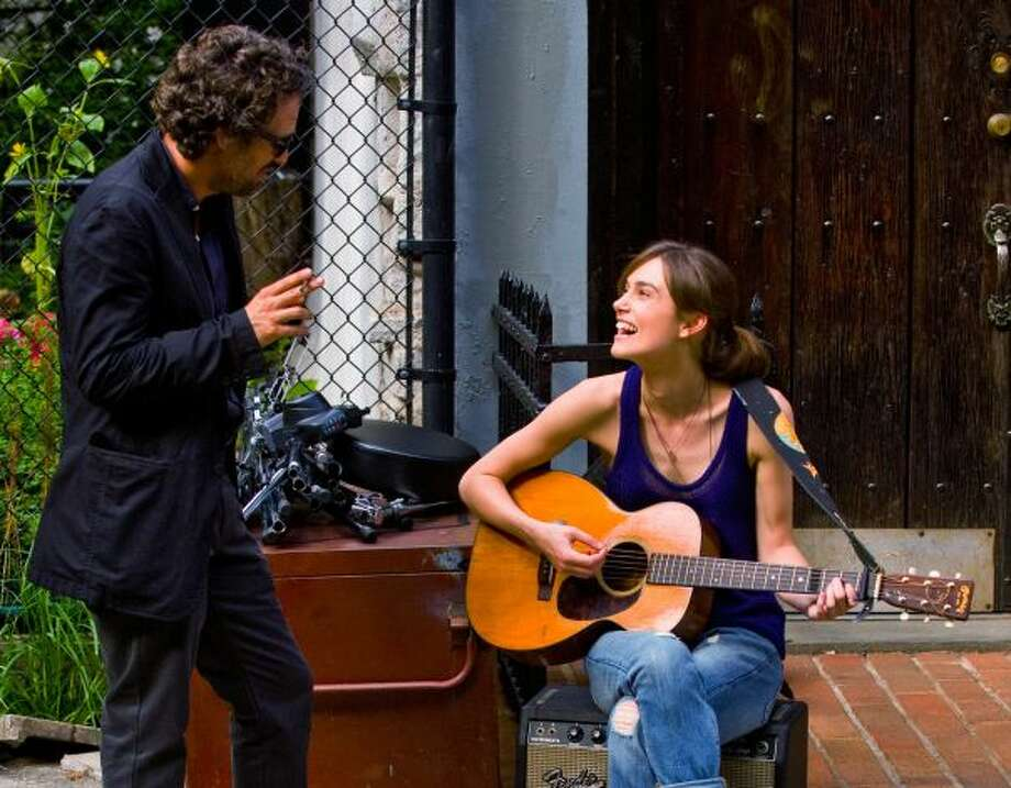 BEGIN AGAIN:  None of the tendencies, though Keira Knightley and Mark Ruffalo are excellent in it.