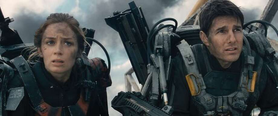 EDGE OF TOMORROW:  Timely (apocalyptic terrors), some timeless values, good performances -- another respectable entry, but not to be confused for a classic.
