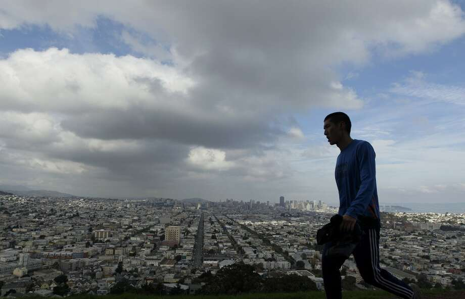 Take a hike. Literally, put shoes on and walk along a trail outside for a while. Not sure where to go hiking? Here's a list of the best hikes in San Francisco. Photo: Jeff Chiu, Associated Press