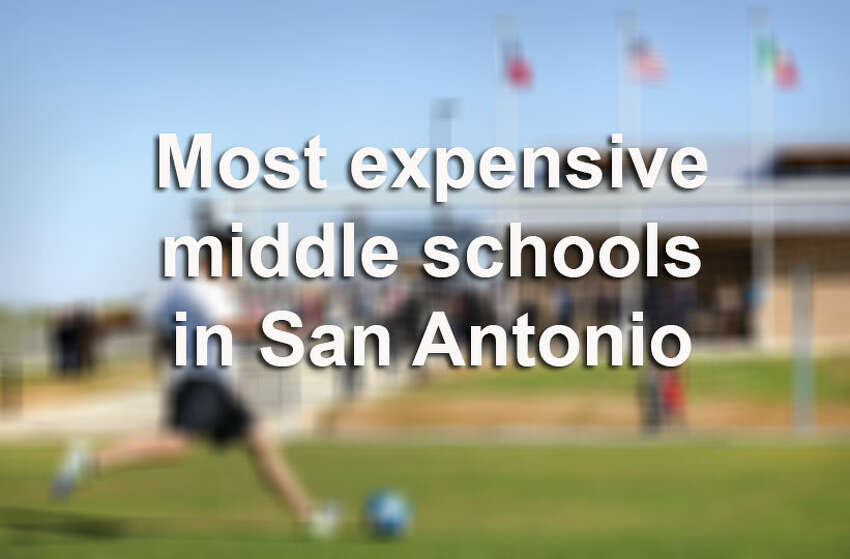 On Monday, the State Comptroller's Office released its first public school construction survey, which allows taxpayers to see how much was spent on schools that opened between 2007 and 2013. Here are the most expensive middle schools that have opened in the San Antonio metro area.