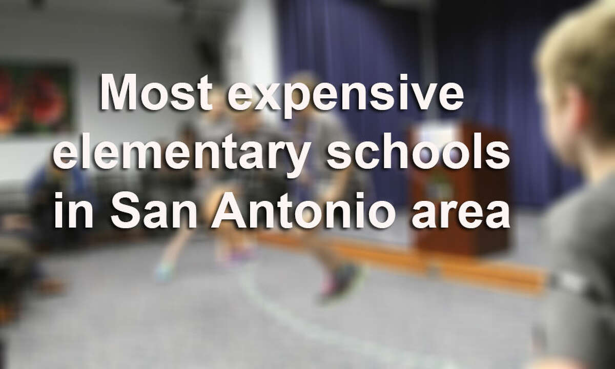 On Monday, the State Comptroller's Office released its first public school construction survey, which allows taxpayers to see how much was spent on schools that opened between 2007 and 2013. Here are the most expensive elementary schools that have opened in the San Antonio metro area.