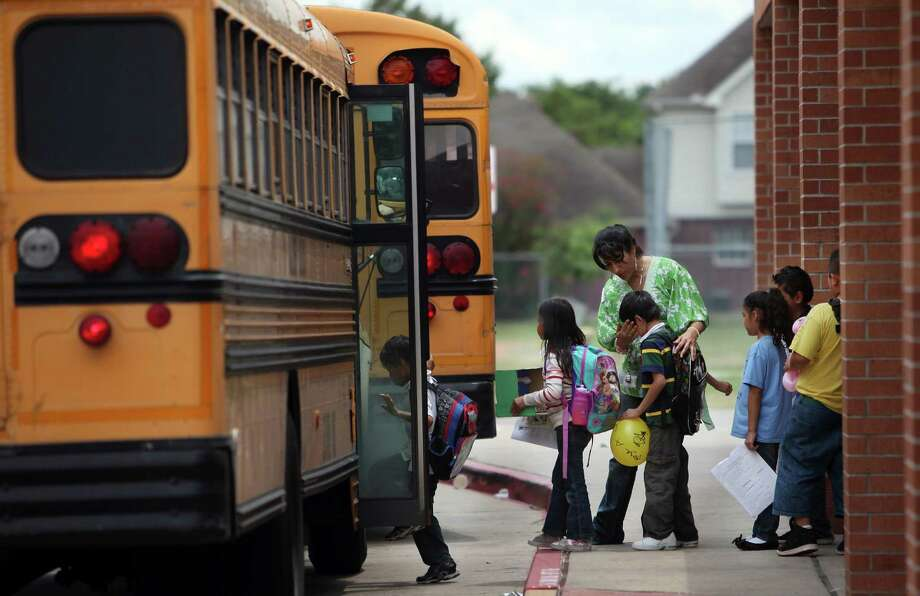 Alief ISD Number of facilities: 1 Average cost per square foot: $102, $53 less than state average Average cost per student at capacity: $11,936, $8,846 less than state average Photo: Mayra Beltran, Chronicle File / © 2013 Houston Chronicle