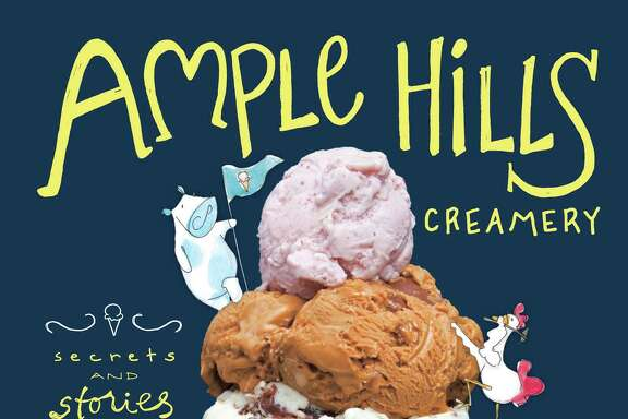 "Cover: ""Ample Hills Creamery: Secrets and Stories from Brooklyn's Favorite Ice Cream Shop"" by Brian Smith and Jackie Cuscuna (Stewart, Tabori & Chang)."