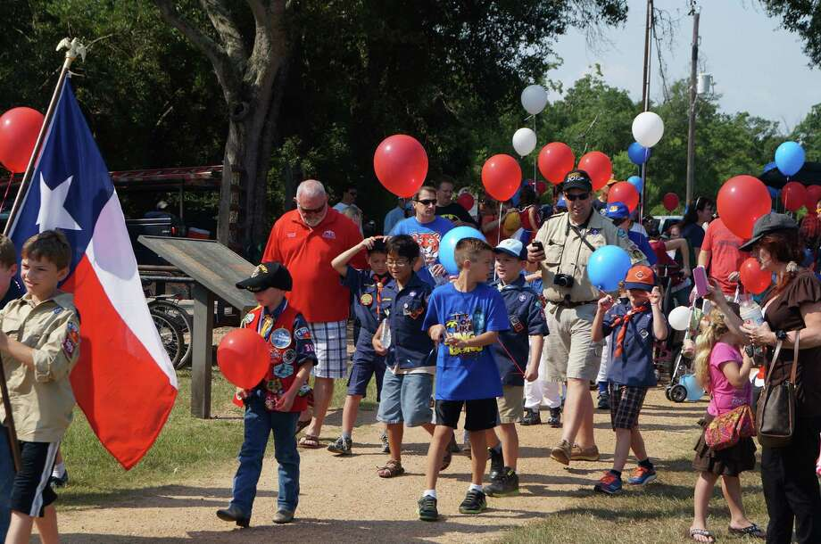 Children and adults take part in last year's Fourth of July Children's Parade in Seabrook. This year's parade is planned for Friday, July 4 beginning at 10 a.m. The Bay Area has a variety of celebrations planned for Independence Day. Photo: Courtesy Photo