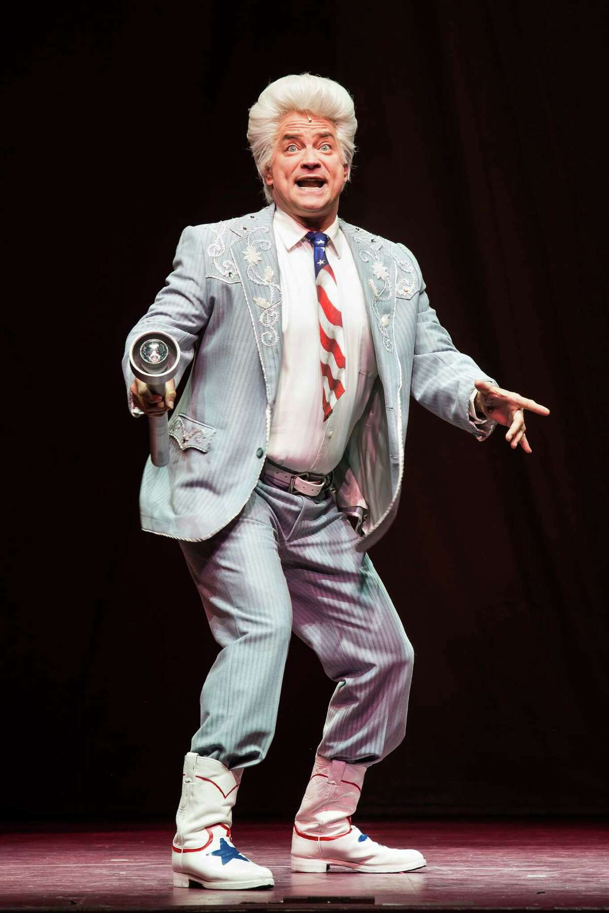 """Michael Tapley will reprise his role as Melvin P. Thorpe in the Theater Under The Stars production of """"The Best Little Whorehouse in Texas."""""""