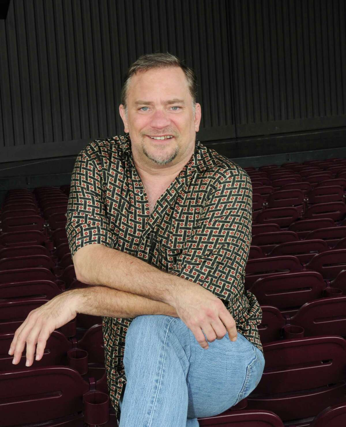"""Michael Tapley is a veteran of acting in productions of """"Best Little Whorehouse in Texas."""""""