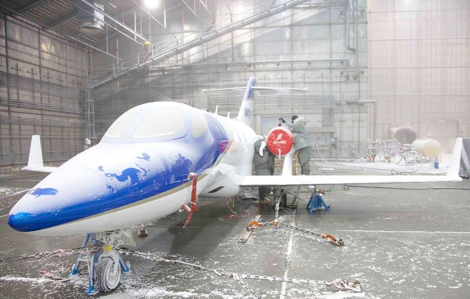 The HondaJet underwent extreme cold weather testing at the McKinley Climatic Laboratory in Florida. Photo: Honda, Wieck