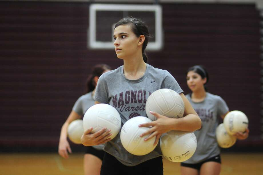 Magnolia senior Morgan Miller will be a key returnee for the Bulldogs this fall, who settle in with tough slate in District 19-5A. Photo: Jerry Baker, Freelance / Greg Krenek