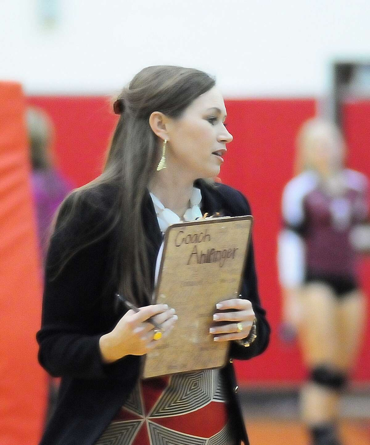 Cy Woods volleyball coach Ashley Ahlfinger will have her work cut out for her rebuilding the Wildcats into a contender this fall.