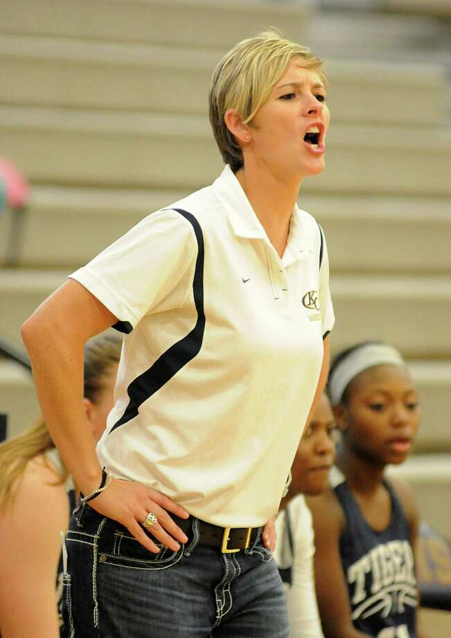 Clear Creek girls basketball coach Kristi Odom has realized a dream by returning to her alma mater this fall. Photo: David Hopper, Freelance / freelance