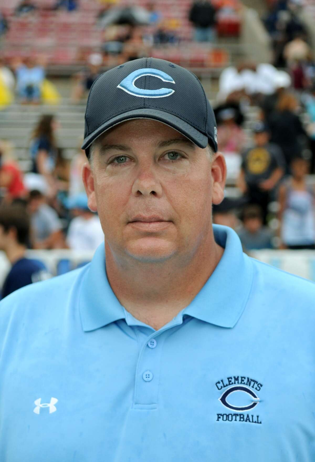 Clements head coach Keith Knowles