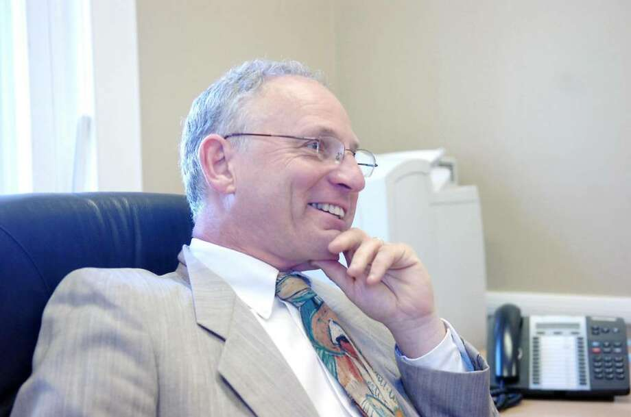 Greenwich schools Superintendent Sidney A. Freund is being questioned by town finance officials who say his budget includes multiple new expenditures despite promising to reign in any new initiatives. Keelin Daly / Staff Photo Photo: File Photo, Gt / Greenwich Time File Photo