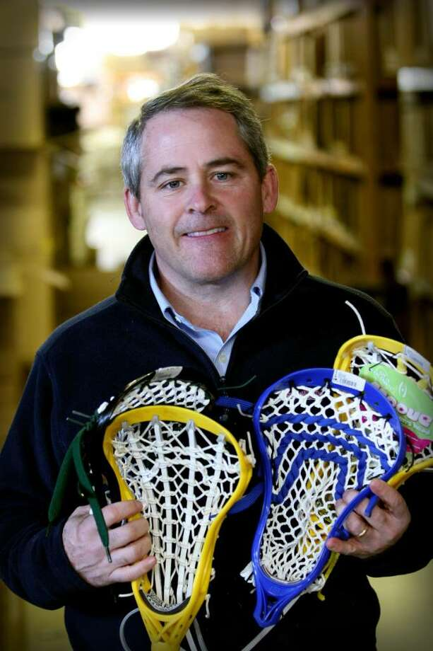 John Arrix of Wilton is expecting to score big with a recent acquistion: Lax.com, an e-commerce Web site for the sale of lacrosse equipment. Photo: Contributed Photo / Stamford Advocate Contributed