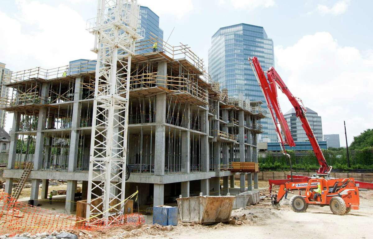 Belfiore, a luxury condominium tower under construction in the Galleria area, is being developed on a 2-acre site at the southeast corner of Post Oak Lane and S. Wynden Drive, between San Felipe and Woodway by the Interfin Cos. Units start at $2.5 million. ( J. Patric Schneider / For the Chronicle )
