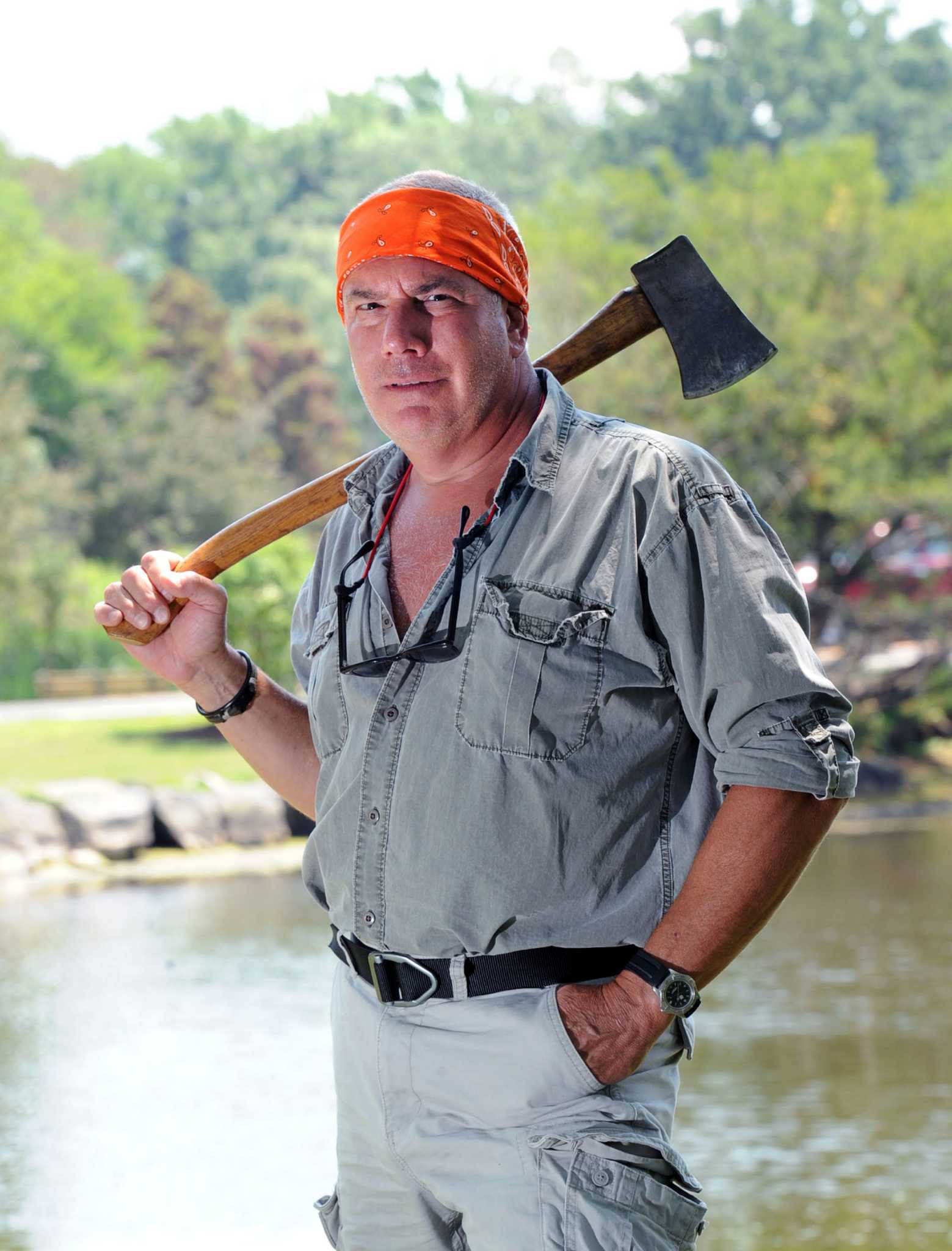 Weekend with survival expert provides lessons for life