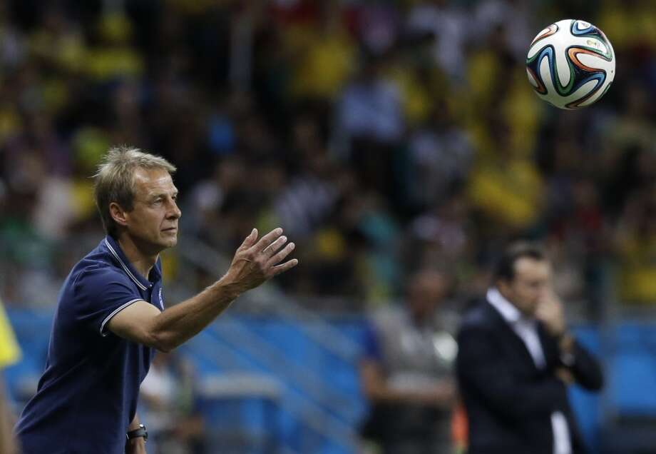 Jurgen's last gamble doesn't pay off  Klinsmann created some controversy about an hour before the game by benching midfielder Kyle Beckerman, who had been one of the Americans' most consistent performers in Brazil. Klinsmann instead opted for a 4-3-3 formation against the Belgians, and while he showed a golden touch with his personnel moves in the group stage, this one didn't pay off. The formation change was made to open up the U.S. attack, but the Belgians thoroughly dominated throughout Tuesday's match. Only an otherworldly effort from the all-world Tim Howard kept the Americans in the game. Photo: Matt Dunham, Associated Press