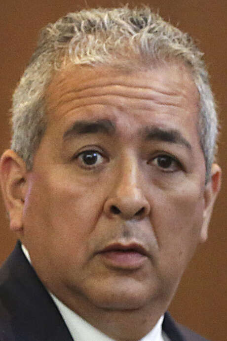 SAWS CEO Robert Puente says the project would solidify the city's water security for decades. / ©2013 San Antonio Express-News