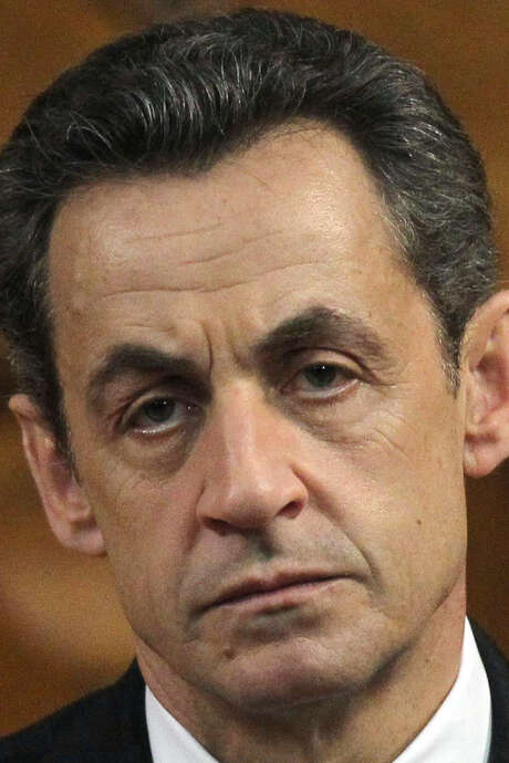 A probe is focusing on whether Nicolas Sarkozy took illegal campaign donations. / AFP