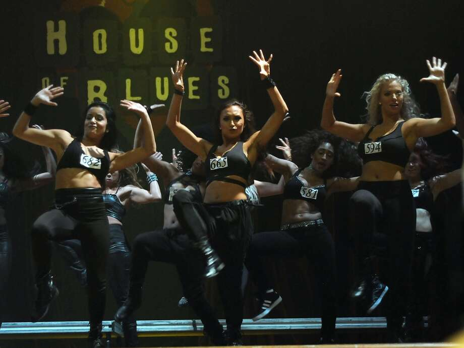 Houston Rocket Power Dancers finalists compete to make the squad at the House of Blues Tuesday July 01, 2014. (Dave Rossman photo) Photo: For The Houston Chronicle