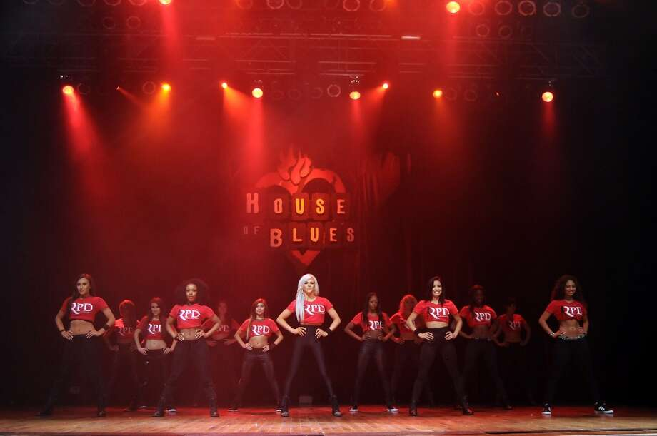 The 2014-2015 Houston Rocket Power Dancers perform at the House of Blues Tuesday July 01, 2014. (Dave Rossman photo) Photo: For The Houston Chronicle