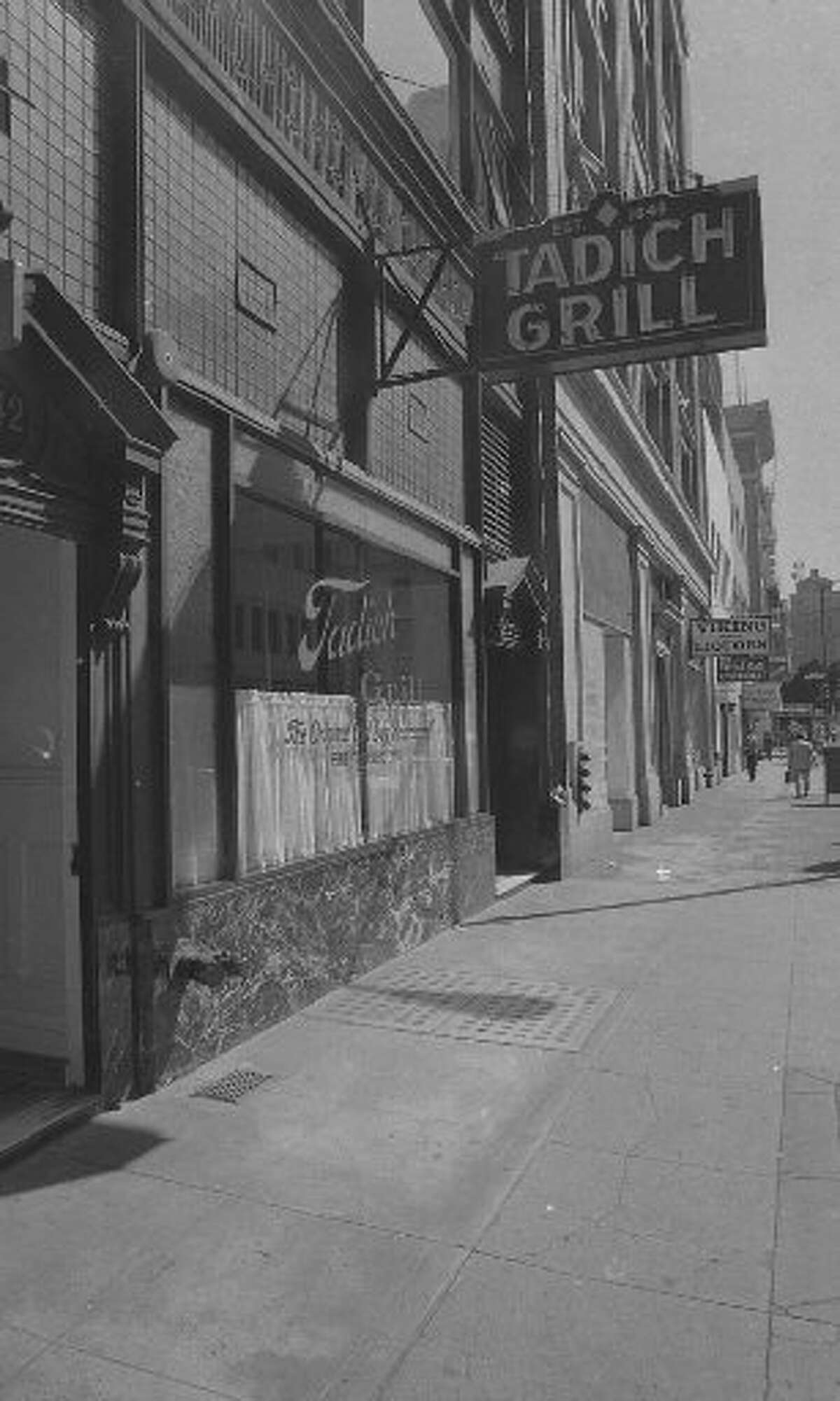 The exterior of Tadich in 1976