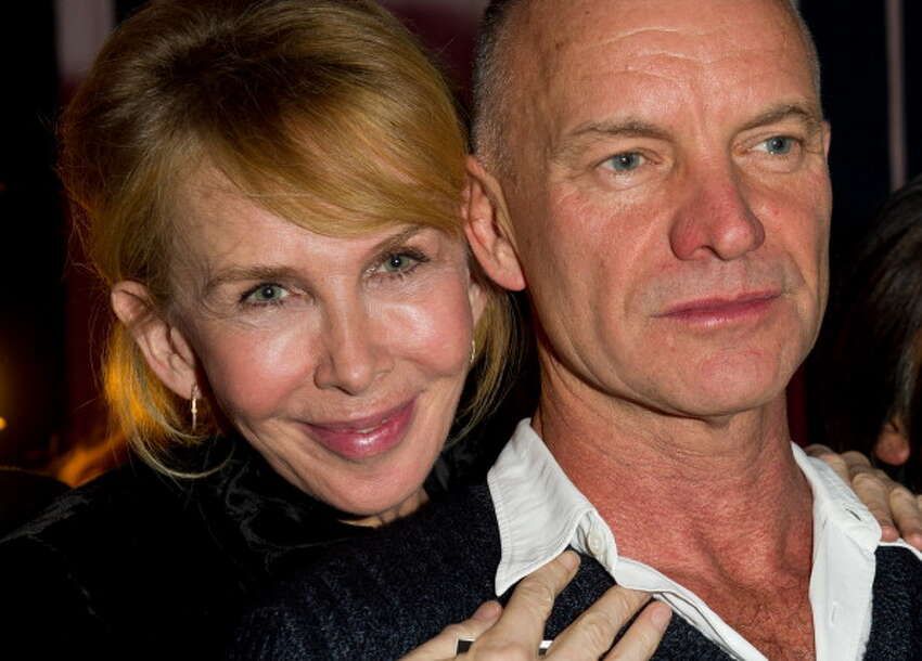 Sting and Trudie Styler married 22 years.Source: Wikipedia