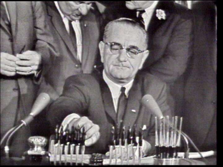 50 years since lbj signed the civil rights act