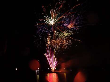 The patriotic evening at Kings Harbor will conclude with fireworks over Lake Houston.