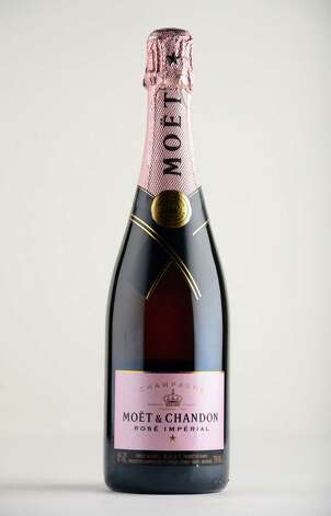 Moet & Chandon Rose Imperial Monday May 12, 2014, at the Times Union in Colonie, N.Y. (Will Waldron/Times Union) Photo: WW
