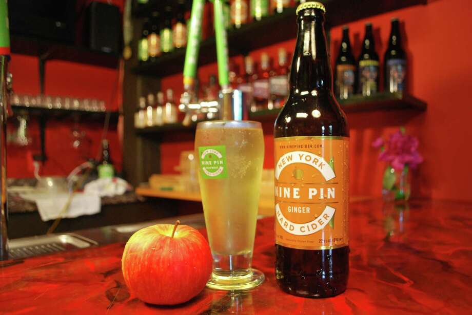 Credit: Nine Pin Cider Works  Nine Pin's new ginger cider.