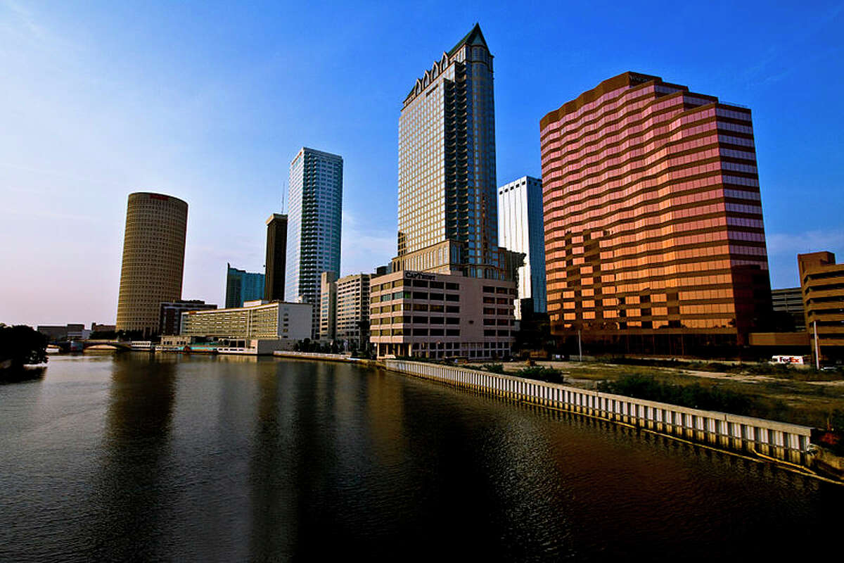 Forbes has ranked three Texas locales among the nation's top 10 big cities stealing financial jobs from New York City. Here's a look at the others. 10. Tampa Bay-St. Petersburg-Clearwater, Florida.