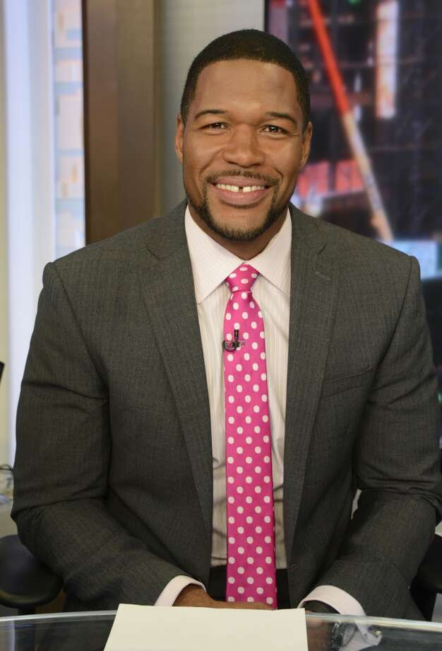 He hosts a football program, he's Kelly Ripa's co-host every morning on Live with Kelly and Michael, he hosts Good Morning America several days a week, and he's a former NFL player worth $45 million. - worthly.com