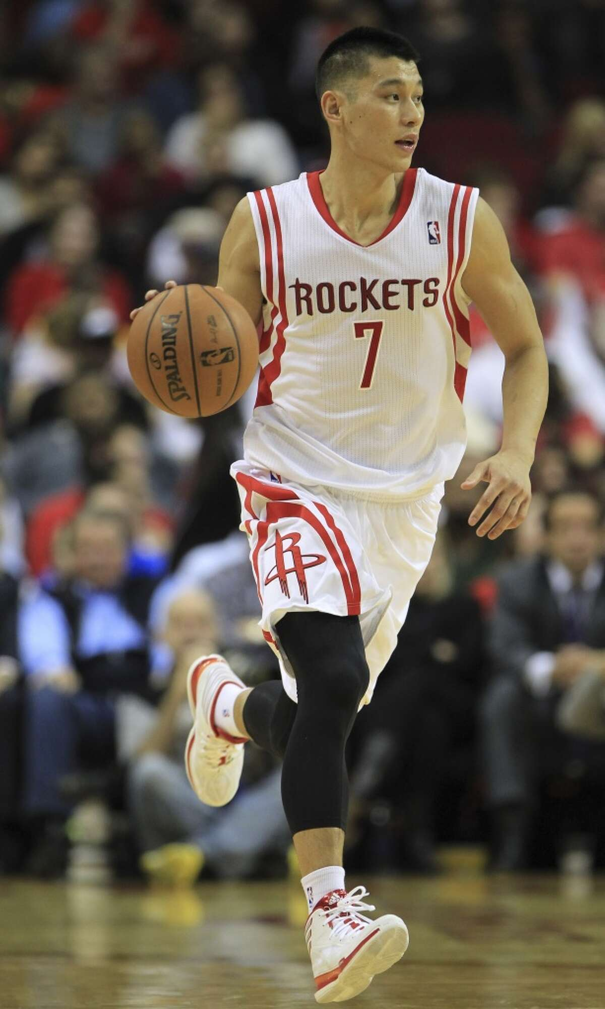 The NBA's first American-born player of Chinese or Taiwanese descent has also played for Golden State, Houston, the Lakers and Charlotte. PHOTOS: Browse through the slideshow for a look back at Jeremy's Lin's career through the years.