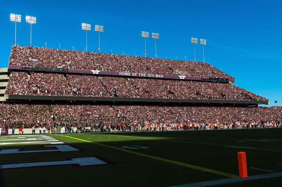 The east stands at Kyle Field are packed with fans as A&M faces Sam Houston State on Nov. 17, 2012. Photo: Smiley N. Pool , Houston Chronicle