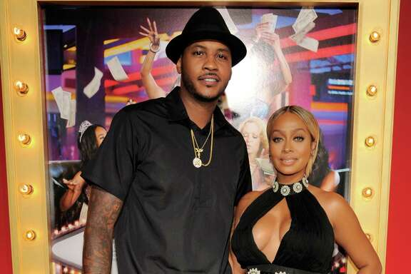 "Houston would love to welcome NBA basketball player Carmelo Anthony and his wife La La Anthony to town. The pair recently attended the premiere of her new film, ""Think Like A Man Too,"" in Los Angeles."