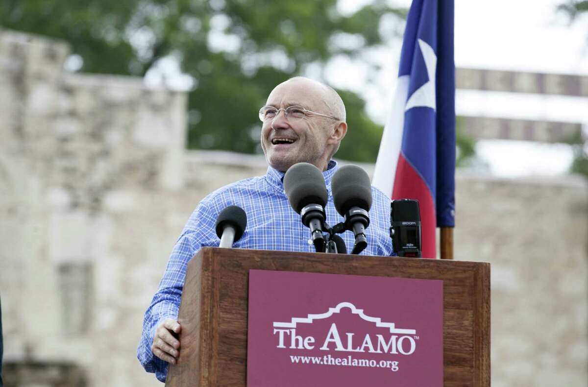 Singer Phil Collins' donation of his personal Texas Revolution-era artifacts collection to the Alamo will inspire Texans and foster a deeper understanding of times in which Texas freedom was won.